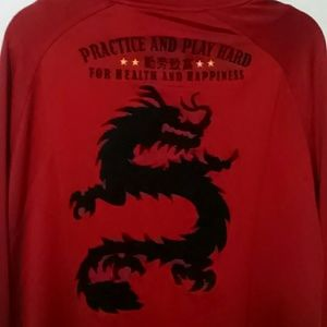 Nike Li Long China World Cup reversible jacket